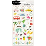 Chasing Adventures Mini Icons Puffy Stickers