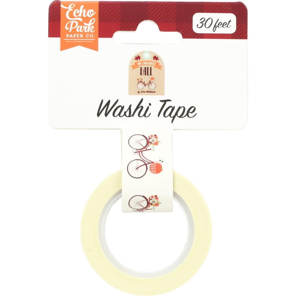 My Favorite Fall Autumn Bike Ride Washi Tape