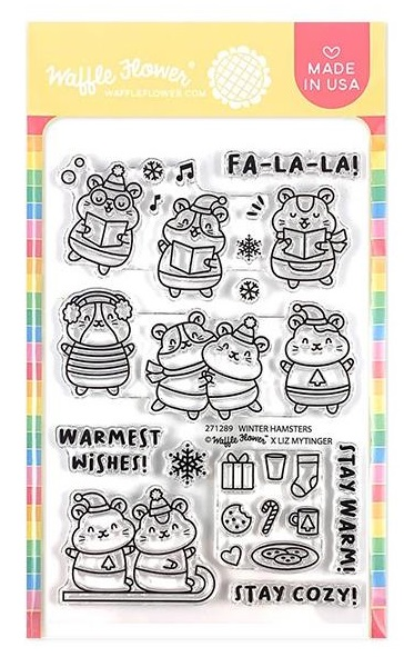 Winter Hamster Stamp Set
