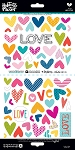 Bible Journaling Stickers - His Love