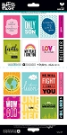 Bible Journaling Stickers - Word Art