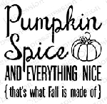 Pumpkin Spice Stamp