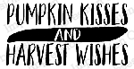 Pumpkin Kisses Stamp