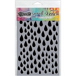Dylusions Stencil - Small Raindrops