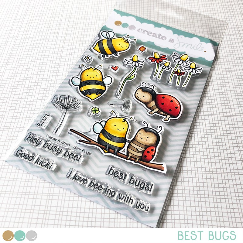 Best Bugs Stamp Set