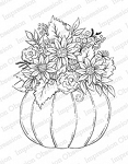 Pumpkin Arrangement Stamp