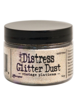 Distress Glitter Dust Vintage Platinum