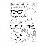 Pumpkin Cup Clear Stamp Set