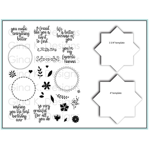 Wreath Builder Stamp & Stencil