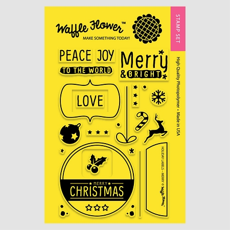 Holiday Labels - Merry
