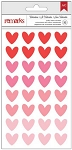 My Funny Valentine Hearts Puffy Stickers