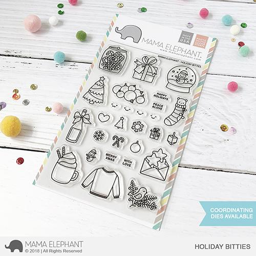 Holiday Bitties Stamp Set