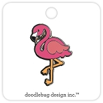 Collectible Pin Flamingo