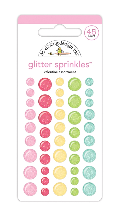 Valentine Assortment Glitter Sprinkles