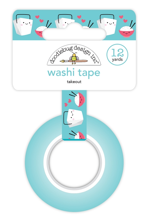 Takeout Washi Tape