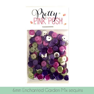 6mm Enchanted Garden Sequins Mix