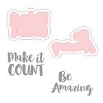 Be Amazing Stamp & Die Set