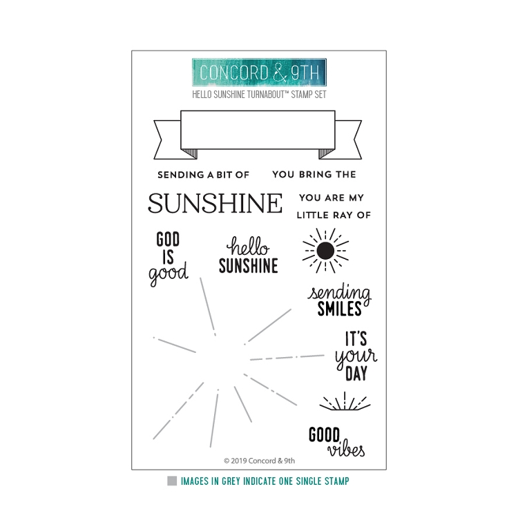 Hello Sunshine Turnabout Stamp Set