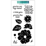 Filled In Florals Stamp Set