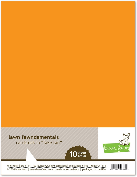 8.5 x 11 Cardstock Fake Tan
