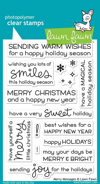 Merry Messages Stamp Set