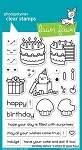 Birthday Before 'N Afters Stamp Set
