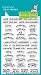 Reveal Wheel Friends & Family Sentiments Stamp Set