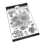 One in a Million Mom Floral Stamp Set
