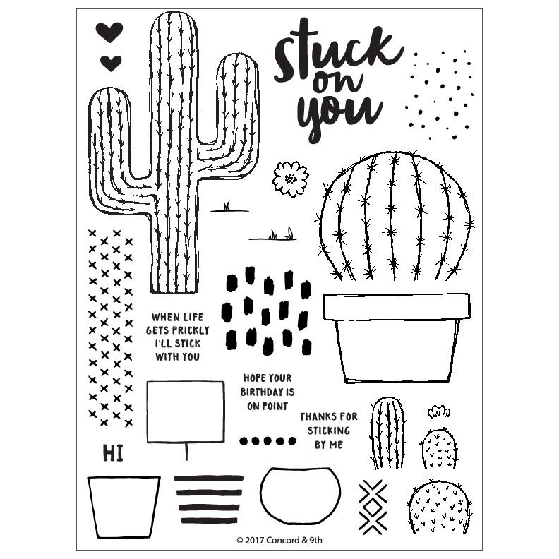 Stuck On You Stamp Set