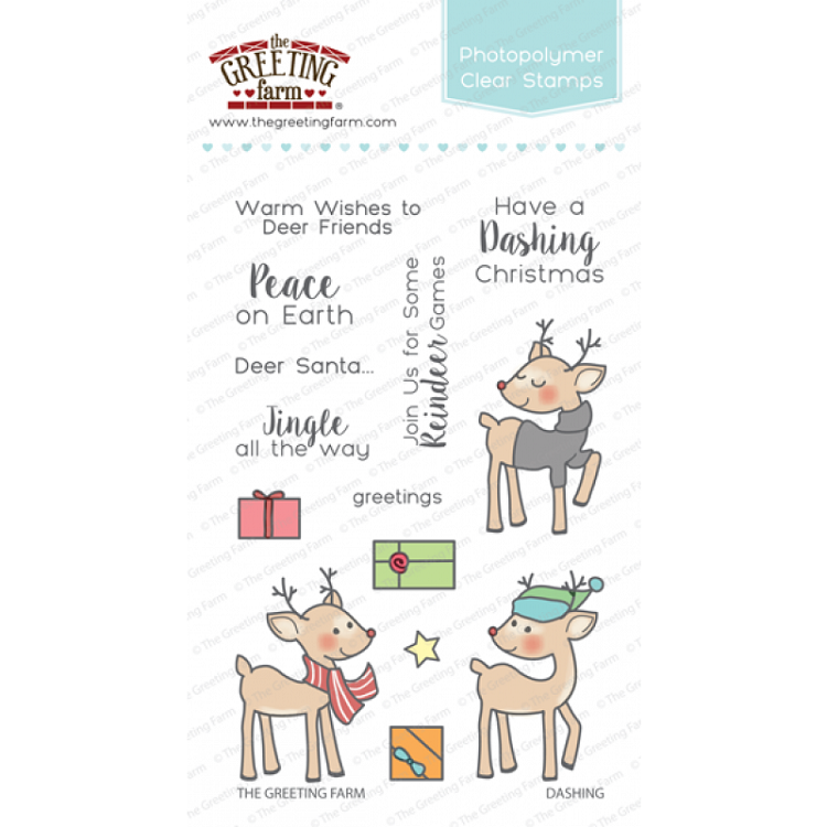Dashing Stamp Set
