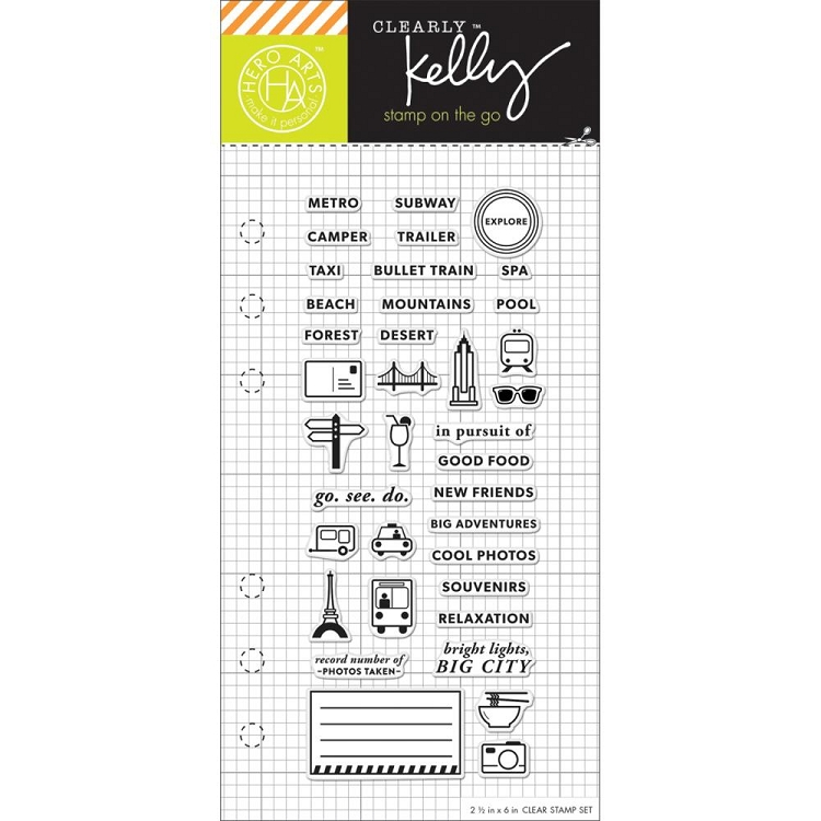 Kelly's Adventure Planner Stamp Set