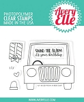 Peek-A-Boo Car Stamp Set