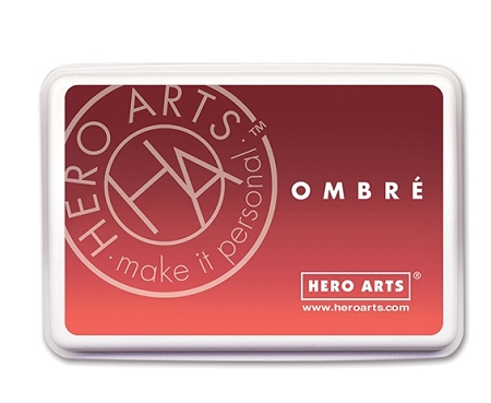 Ombre Ink Pad - Light Ruby to Royal Red