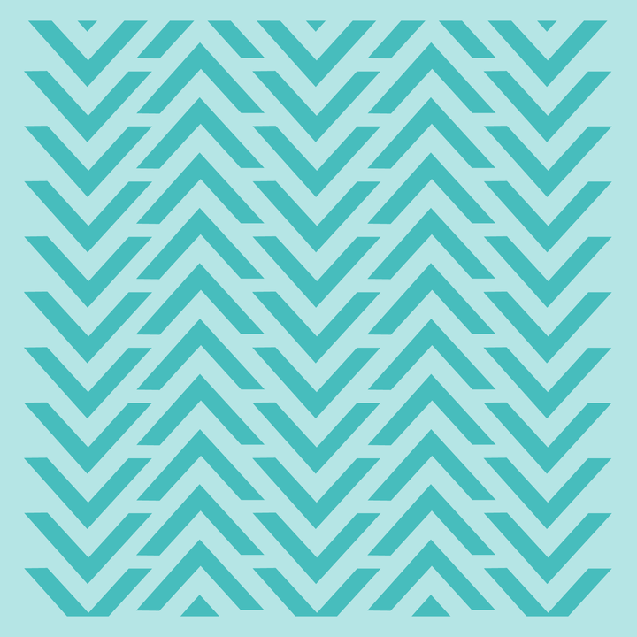 Chevron Arrows Background Stencil