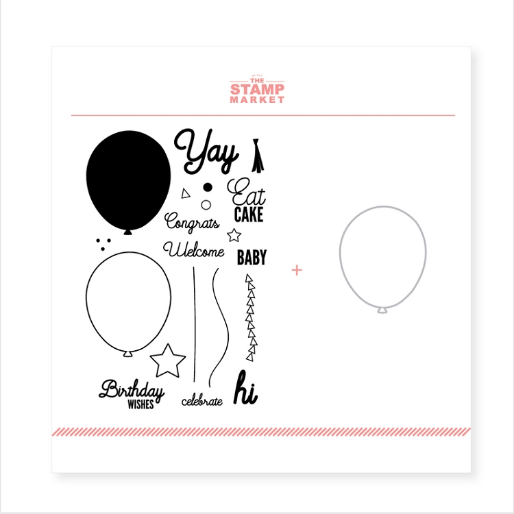 Balloon Builder Stamp & Die Bundle