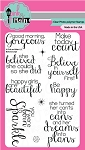 Believe Script Stamp Set