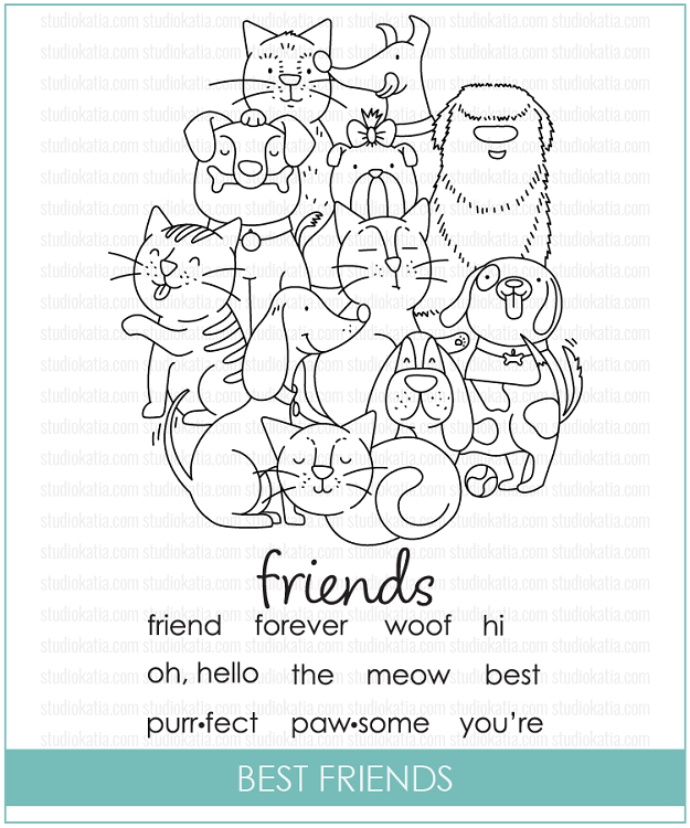 Best Friends Stamp Set