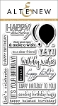 Birthday Greetings Stamp Set