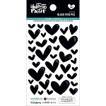 Black Eye Pea Enamel Hearts