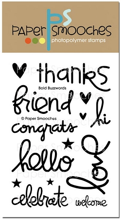 Bold Buzzwords Stamp Set