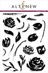 Brush Art Floral Stamp Set