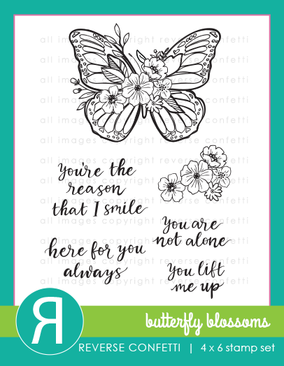 Butterfly Blossoms Stamp Set