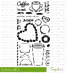 Caffeine Addict Stamp Set