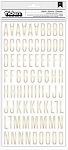 Cottage Living Foil Imprint White & Gold Thickers