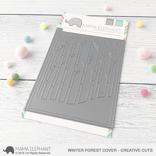 Winter Forest Cover Creative Cuts