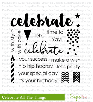 Celebrate All The Things Stamp Set