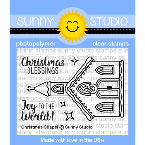 Christmas Chapel Stamp Set