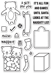 Naughty or Nice Stamp Set