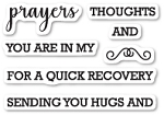 Prayers Sentiments Stamp Set