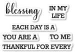 Each Day is a Blessing Stamp Set